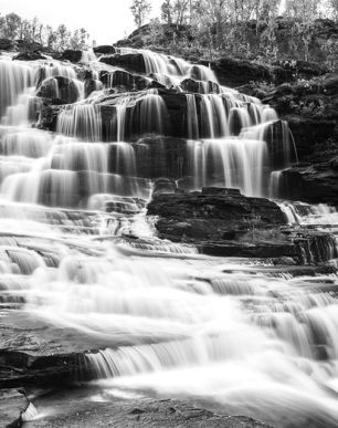 Brian Cattelle Fine Art Black and White Photography Waterfall Study 06
