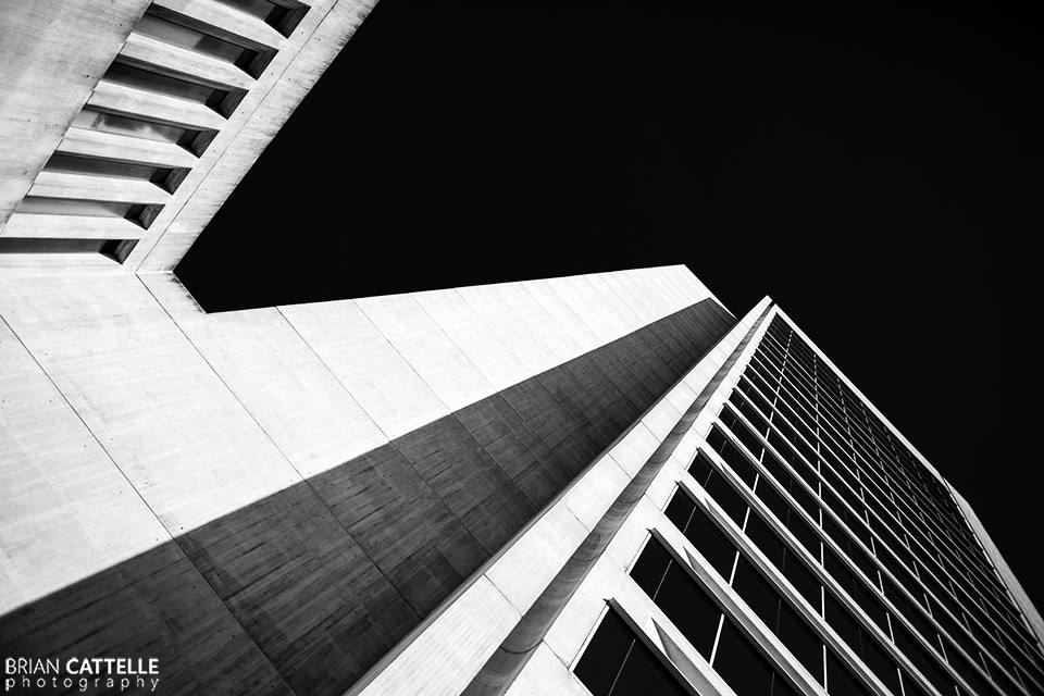 Brian Cattelle Fine Art Black and White Photography Wilmington Architecture Study 01