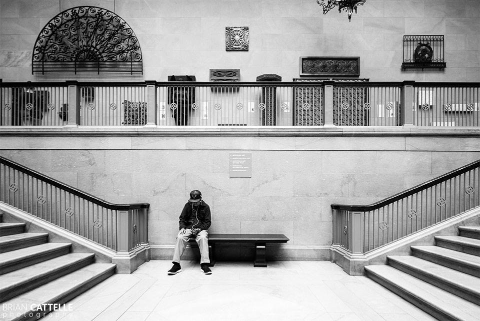 Brian Cattelle Fine Art Black and White Photography Chicago Museum of Art Study 01