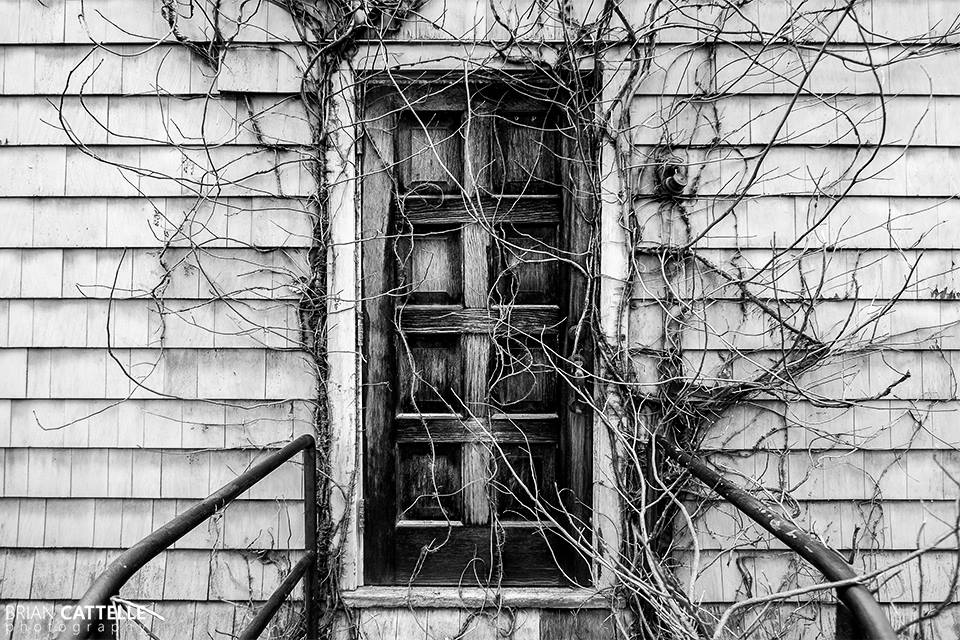 Brian Cattelle Fine Art Black and White Photography Door Study 01