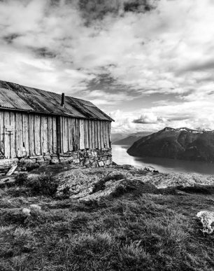 Brian Cattelle Fine Art Black and White Photography Fjord Study 02