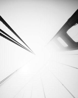 Brian Cattelle Fine Art Black and White Photography Golden Gate Bridge 04