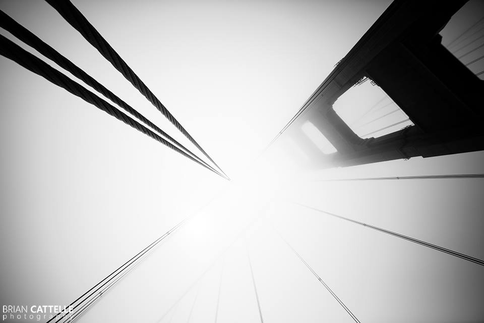 Brian Cattelle Fine Art Black and White Photography Golden Gate Bridge 04