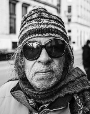 Brian Cattelle Fine Art Black and White Photography Portland Maine Bus Patron Study 01