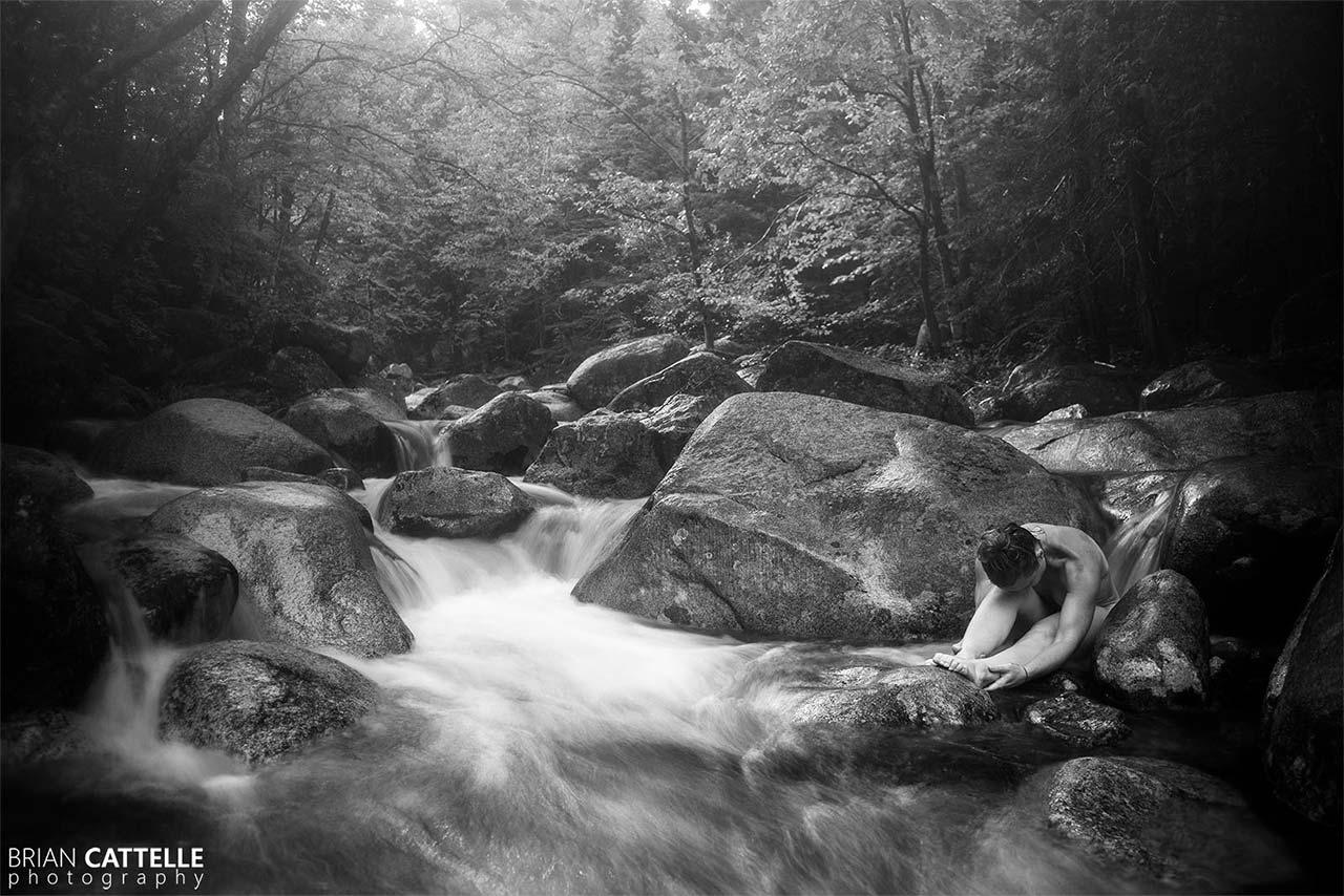 Brian Cattelle Fine Art Black and White Photography Sachi Study 05