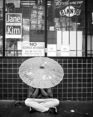 Brian Cattelle Fine Art Black and White Photography San Francisco Street Study 21