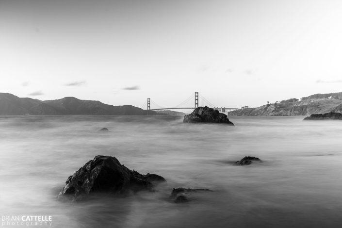 Black and White Art Photos China Beach