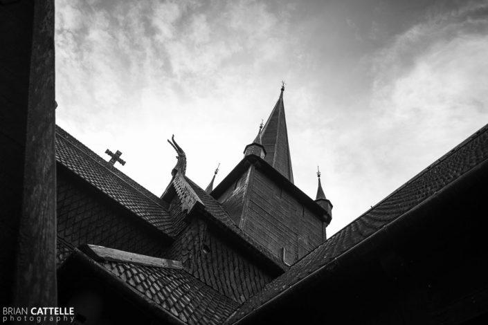 Black and White Art Photos Church