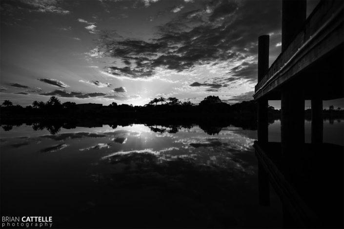 Black and White Photo Prints Lake Ida Park
