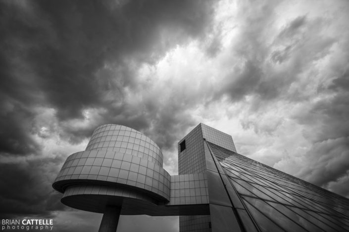 Fine Art Architecture Photography Rock N Roll Hall of Fame