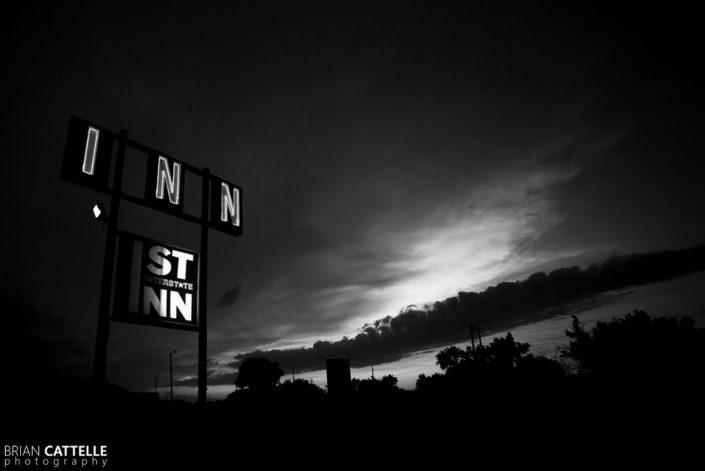 Fine Art Black and White Photography 1st Interstate Inn
