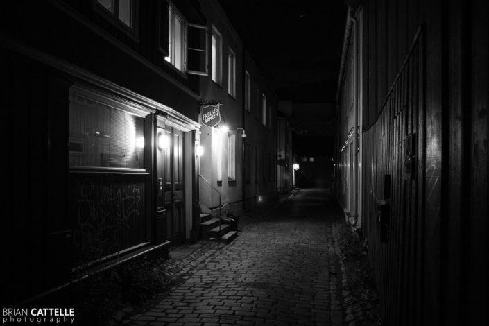 Fine Art Black and White Prints Trondheim Streets
