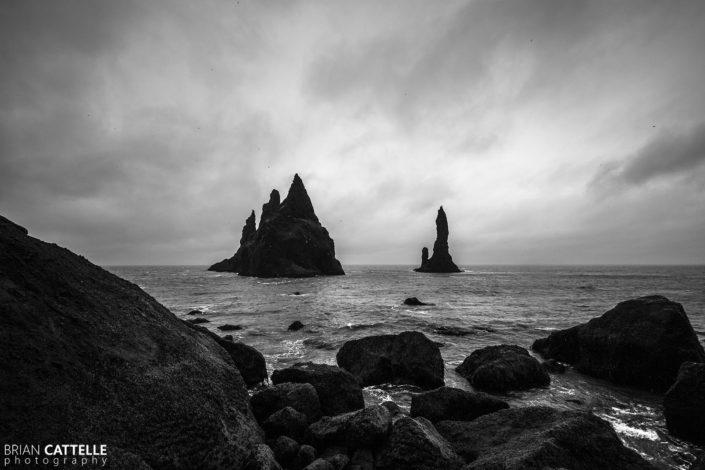 Fine Art Photography Black Beach