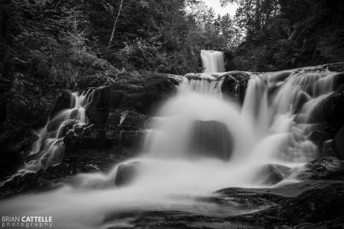Landscape Photography Moxie Falls
