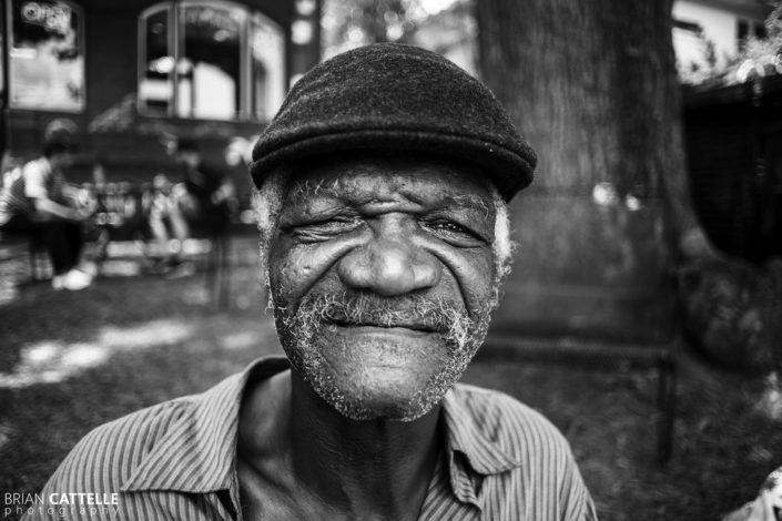 Portrait Photography One Eyed Blues Man