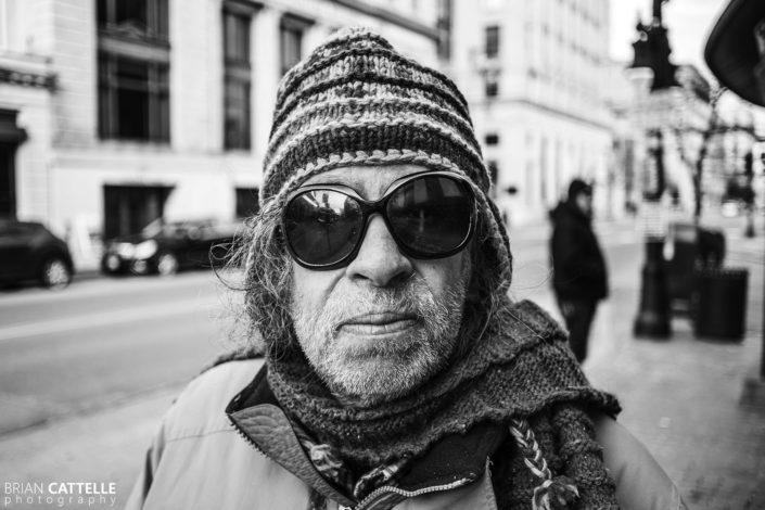 Portrait Photography Portland Maine Bus Patron