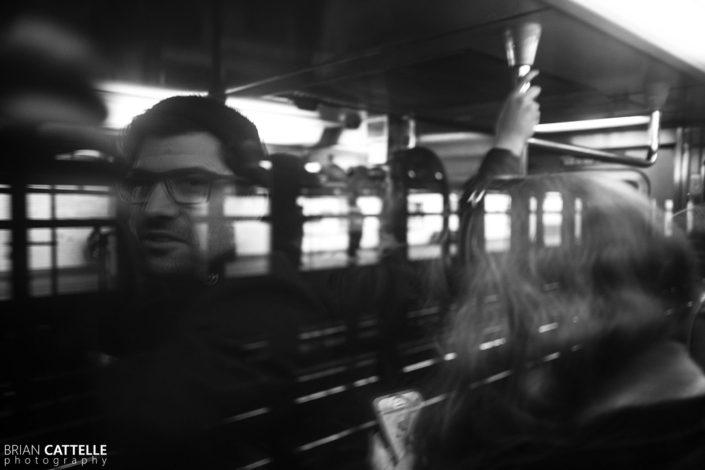Street Portrait Photography New York Subway