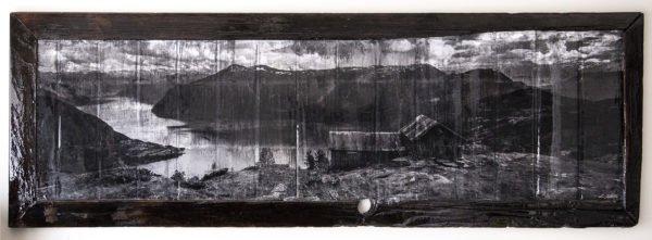 A fine art photograph of a Fjord